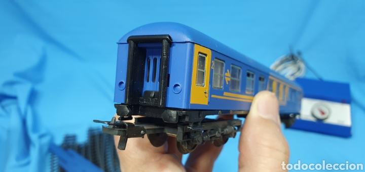 Trenes Escala: TREN COMPLETO RENFE - LOCOMOTORA MAZINGER IBERTREN HO - SE VENDE COMO QUE NO FUNCIONA, NO HA SIDO - Foto 16 - 222648758