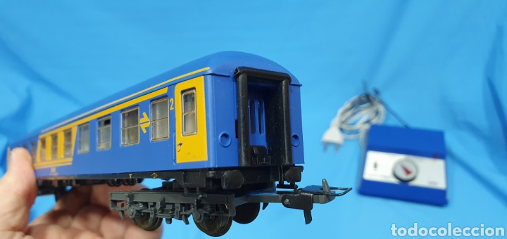 Trenes Escala: TREN COMPLETO RENFE - LOCOMOTORA MAZINGER IBERTREN HO - SE VENDE COMO QUE NO FUNCIONA, NO HA SIDO - Foto 17 - 222648758