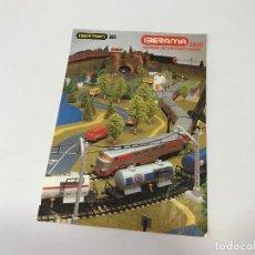 Trenes Escala: FOLLETO INSTRUCCIONES IBERAMA IBERTREN H0 2800 - 1985. Lote 223247401