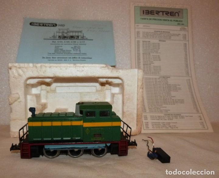LOCOMOTORA IBERTREN H0 REF. 2101 C/LUZ (Juguetes - Trenes a Escala - Ibertren H0)