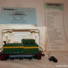 Trenes Escala: LOCOMOTORA IBERTREN H0 REF. 2101 C/LUZ. Lote 223759250