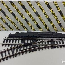 Comboios Escala: IBERTREN HO - DESVÍO IZQUIERDA - MADE IN SPAIN - EN SU CAJA. Lote 269005909