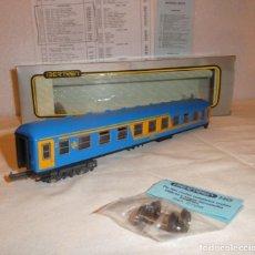 Trains Échelle: VAGON IBERTREN H0 REF. 2210 NUEVA IMAGEN 2ª CLASE. Lote 228516105