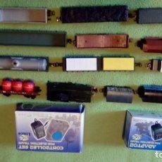 Trenes Escala: 19 VAGONES DE CARGA VARIADOS BARATOS POR ABANDONO DE PROYECTO. Lote 229217180