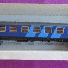 Trenes Escala: TREN IBERTREN H0 COCHE VIAJEROS AZUL EXPRESO REF. 2217 CAJA ORIGINAL. Lote 230526275