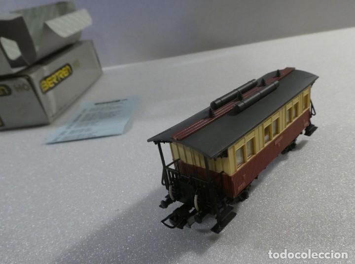 VAGON VIAJEROS 1ª CLASE MZA REF. 2232 (Juguetes - Trenes a Escala - Ibertren H0)