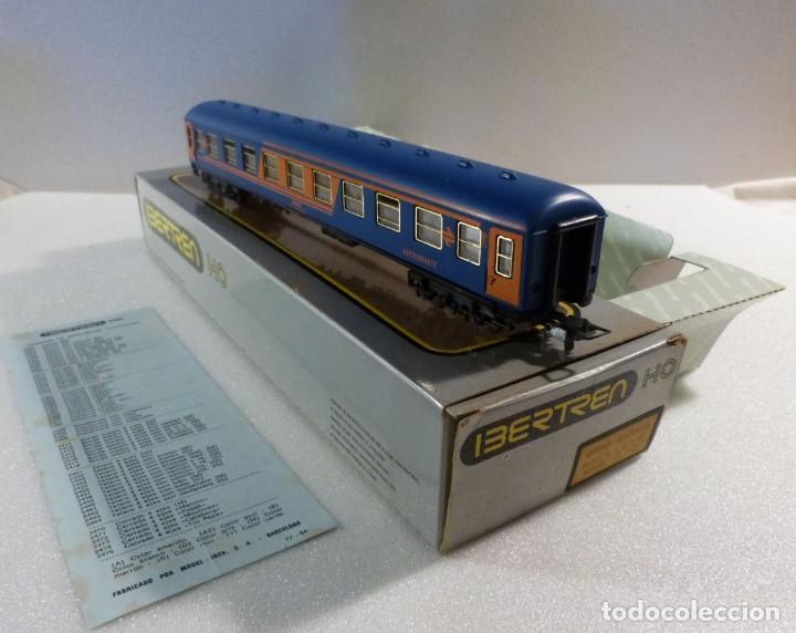 Trenes Escala: VAGON RESTAURANTE NUEVA IMAGEN RENFE CON LUZ IBERTREN H0 REF. 2214 - Foto 12 - 241996195