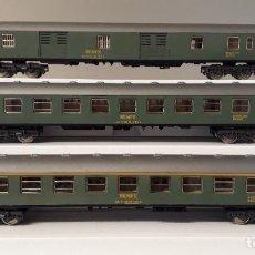 Trenes Escala: IBERTREN H0 SET 3 COCHES DE VIAJEROS S/8000, DE RENFE, REFERENCIAS 2201, 2203 Y 2207.. Lote 243011995