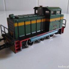 Trenes Escala: LOCOMOTORA IBERTREN HO.TRACTOR MANIOBRAS RENFE.REF 2101.. Lote 243370675