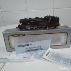 Trenes Escala: LOCOMOTORA IBERTREN HO.242T 1600.FUEL INI.REF 2107.ANALOGICA C.C.MOTOR SCALEXTRIC. Lote 243409700