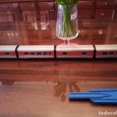 Trenes Escala: EL MITICO TALGO DE IBERTREN.E.HO LOCOMOTORA VIRGEN DEL CARMEN Y 10 VAGONES CON LUZ. Lote 244418625
