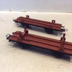 Trenes Escala: PAREJA VAGONES IBERTREN ESC. HO. Lote 244676115