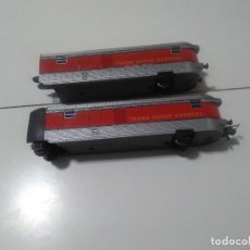 Trenes Escala: IBERTREN HO.DOS FURGONES TALGO.CON LUZ. Lote 245480240