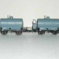 Trenes Escala: CISTERNAS CON Y SIN GARITA. IBERTREN. Lote 246309345