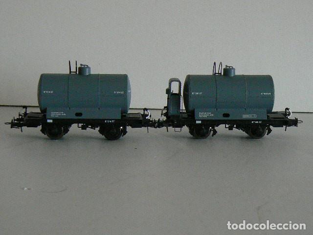 Trenes Escala: Cisternas con y sin garita. Ibertren - Foto 2 - 246309345