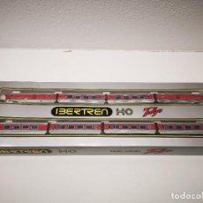 Comboios Escala: EQUIPO UNIDADES TALGO IBERTREN H0 REF. 2186 SIN LUZ. Lote 260312990