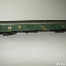 Trenes Escala: ANTIGUO FURGÓN EQUIPAJES RENFE ESC. *H0* REF 2207 DE IBERTREN MADE IN SPAIN 1980S. Lote 265322334