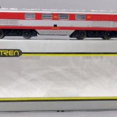 Comboios Escala: LOCOMOTORA DIESEL TALGO VIRGEN DEL CARMEN IBERTREN H0 CAJA REF 2108 FUNCIONA CON LUZ. Lote 268399079