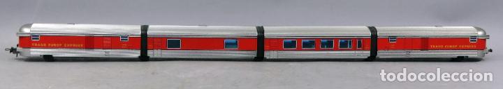 Trenes Escala: Tren Talgo Ibertren H0 Trans Europe Express conjunto 4 No funciona - Foto 2 - 268718759