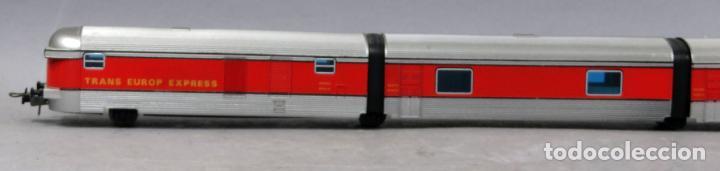 Trenes Escala: Tren Talgo Ibertren H0 Trans Europe Express conjunto 4 No funciona - Foto 3 - 268718759