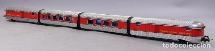 Trenes Escala: Tren Talgo Ibertren H0 Trans Europe Express conjunto 4 No funciona - Foto 5 - 268718759