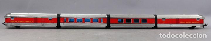 Trenes Escala: Tren Talgo Ibertren H0 Trans Europe Express conjunto 4 No funciona - Foto 6 - 268718759