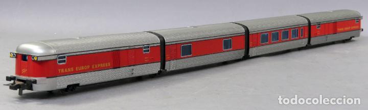TREN TALGO IBERTREN H0 TRANS EUROPE EXPRESS CONJUNTO 4 NO FUNCIONA (Juguetes - Trenes a Escala - Ibertren H0)