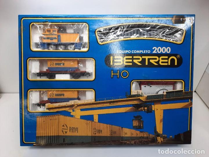 IBERTREN HO EQUIPO COMPLETO 2000 RENFE , FUNCIONANDO!! TIPO PAYA (Juguetes - Trenes a Escala - Ibertren H0)