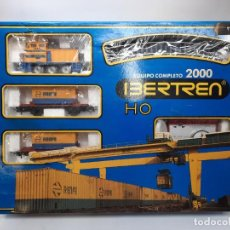 Trenes Escala: IBERTREN HO EQUIPO COMPLETO 2000 RENFE , FUNCIONANDO!!. Lote 275187863