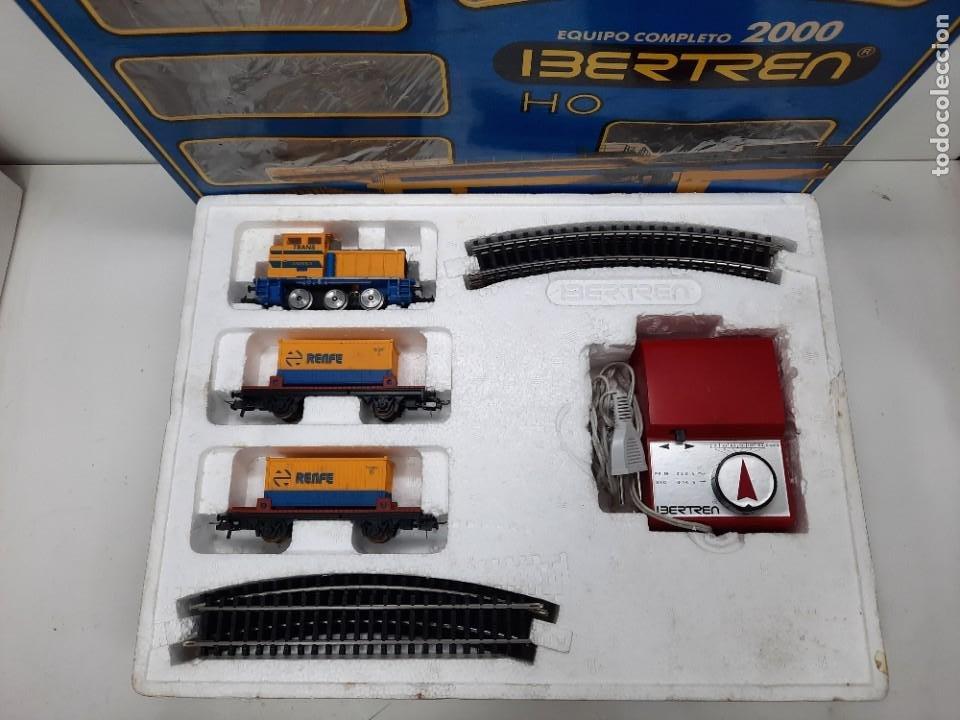 Trenes Escala: IBERTREN HO EQUIPO COMPLETO 2000 RENFE , FUNCIONANDO!! TIPO PAYA - Foto 2 - 275187863