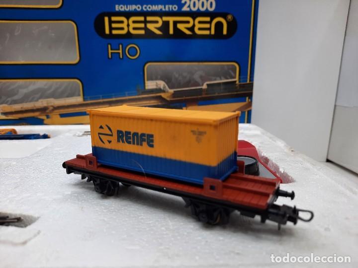 Trenes Escala: IBERTREN HO EQUIPO COMPLETO 2000 RENFE , FUNCIONANDO!! TIPO PAYA - Foto 6 - 275187863