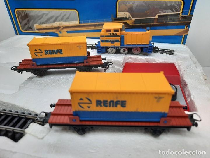 Trenes Escala: IBERTREN HO EQUIPO COMPLETO 2000 RENFE , FUNCIONANDO!! TIPO PAYA - Foto 9 - 275187863