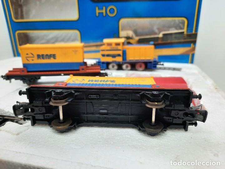 Trenes Escala: IBERTREN HO EQUIPO COMPLETO 2000 RENFE , FUNCIONANDO!! TIPO PAYA - Foto 10 - 275187863