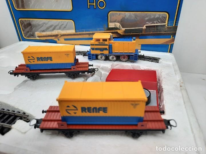 Trenes Escala: IBERTREN HO EQUIPO COMPLETO 2000 RENFE , FUNCIONANDO!! TIPO PAYA - Foto 11 - 275187863