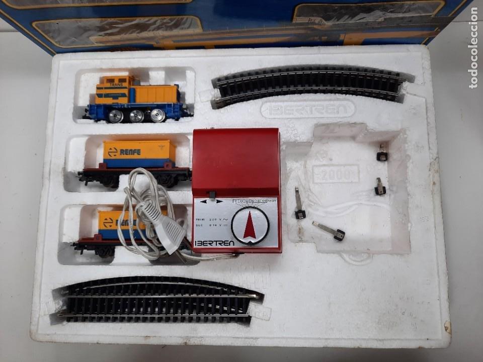 Trenes Escala: IBERTREN HO EQUIPO COMPLETO 2000 RENFE , FUNCIONANDO!! TIPO PAYA - Foto 14 - 275187863