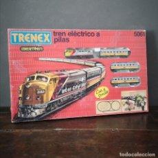 Trenes Escala: TREN ELECTRICO A PILAS TRENEX IBERTREN MODELO 5061 INTER CITY EN CAJA ORIGINAL. Lote 275942283