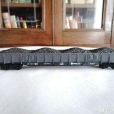 Trenes Escala: IBERTREN H0 VAGÓN DE CARGA DE CARBÓN PERFECTO ESTADO. Lote 276098903