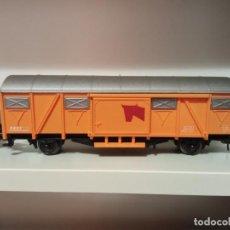 Trenes Escala: 10 VAGONES CERRADOS 2 EJES IBERTREN ESCALA H0. Lote 276446603