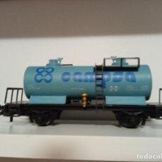 Trenes Escala: 11 VAGONES CISTERNA IBERTREN ESCALA H0. Lote 276446828
