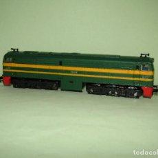 Trenes Escala: ANTIGUA LOCOMOTORA DIESEL ALCO 2100 RENFE ESC. *H0* DE IBERTREN MADE IN SPAIN 1980S. Lote 277048888