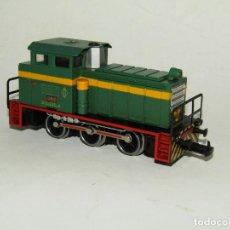 Trenes Escala: ANTIGUA LOCOMOTORA TRACTOR DE MANIOBRAS EN ESCALA *H0* DE IBERTREN. Lote 278408808