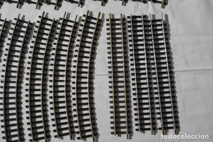 Trenes Escala: Conjunto de vías de Ibertren HO - Foto 5 - 284470568