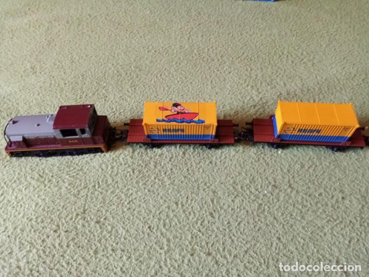 Trenes Escala: circuito para tren E.HO CON TREN DE MANIOBRAS INCLUIDO - Foto 2 - 287122368