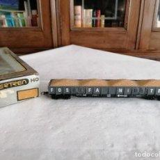 Trenes Escala: IBERTREN H0 VAGÓN DE MERCANCÍAS FOSFANITRA 4 EJES RENFE. Lote 287612903