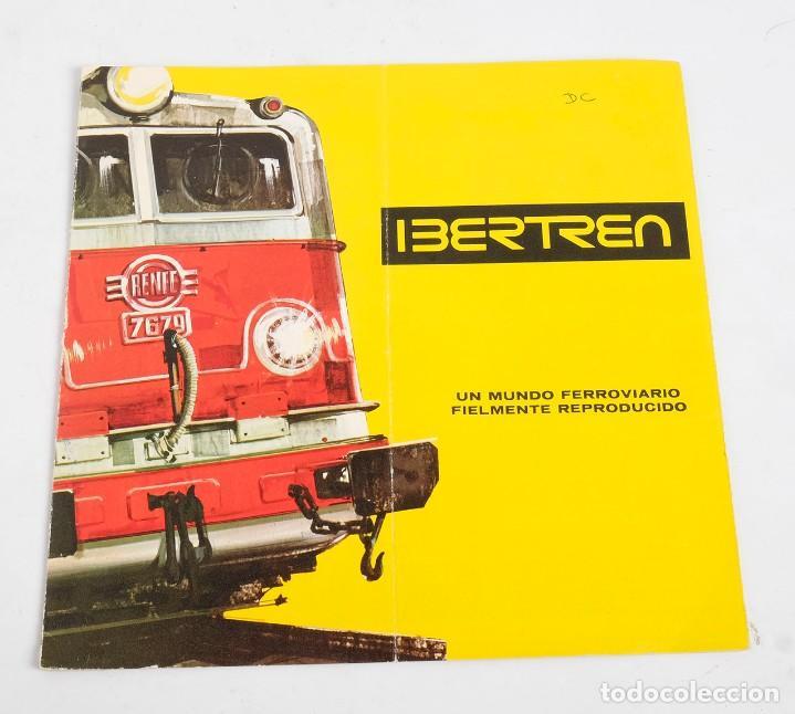 CATÁLOGO DE IBERTREN, 1973 (Juguetes - Trenes a Escala - Ibertren H0)