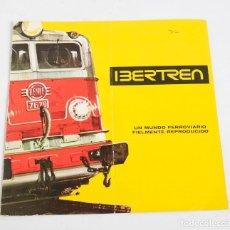 Trenes Escala: CATÁLOGO DE IBERTREN, 1973. Lote 287627883