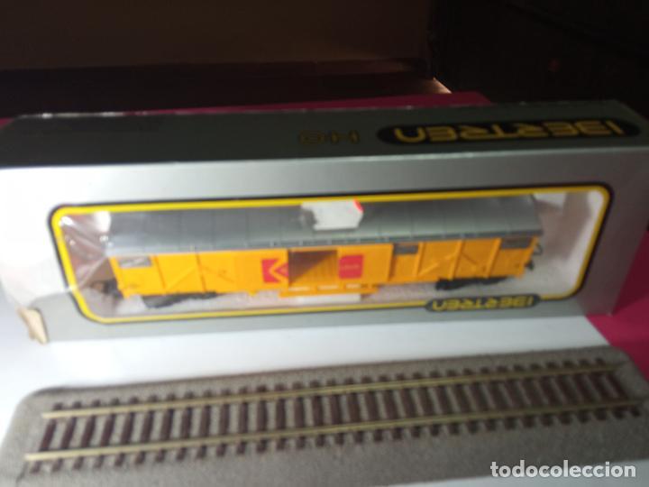 VAGÓN CERRADO DE LA SNCF ESCALA HO DE IBERTREN (Juguetes - Trenes a Escala - Ibertren H0)