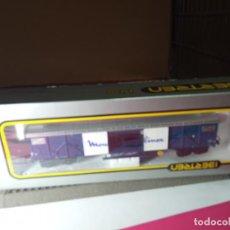 Trenes Escala: VAGÓN CERRADO DE LA SNCF ESCALA HO DE IBERTREN. Lote 288081853