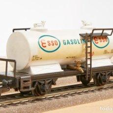 Trenes Escala: IBERTREN REF.2383 VAGÓN CORTO CISTERNA H0. Lote 288342608