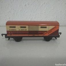 Trenes Escala: VAGÓN CORREOS RENFE PAQUETEEXPRESS TRENEX IBERTREN. Lote 289891648